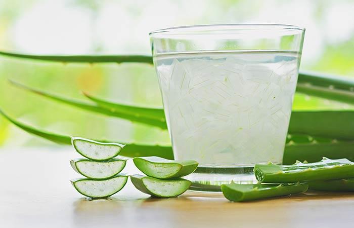 15. Aloe Vera Juice