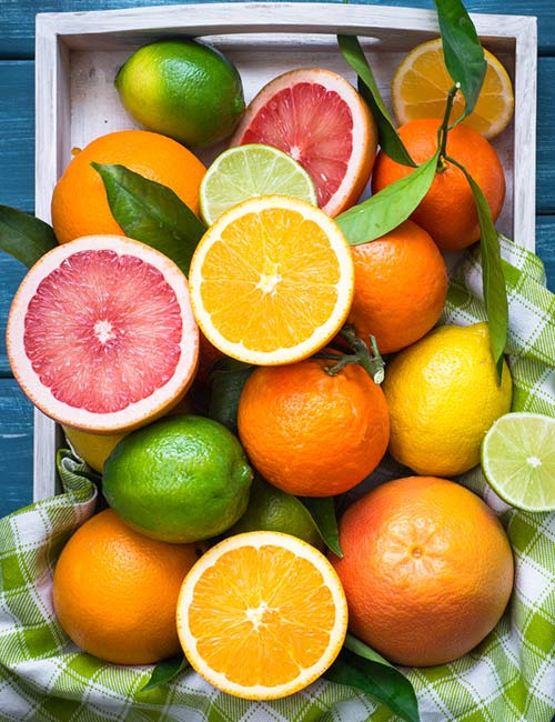 15. Citrus Fruits