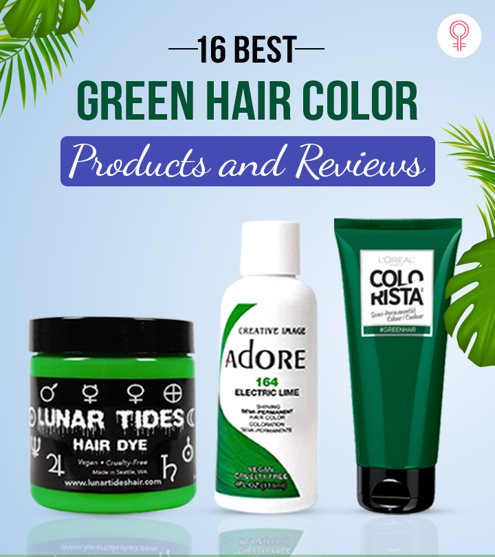 16 Best Green Hair Color Products And Reviews – 2021