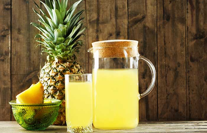 18. Pineapple Juice