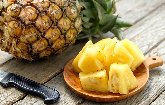 19. Pineapple For Diarrhea
