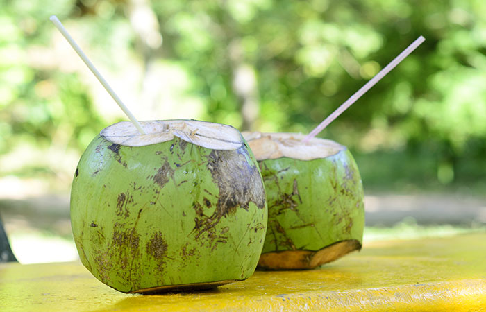 2. Coconut Water For Diarrhea