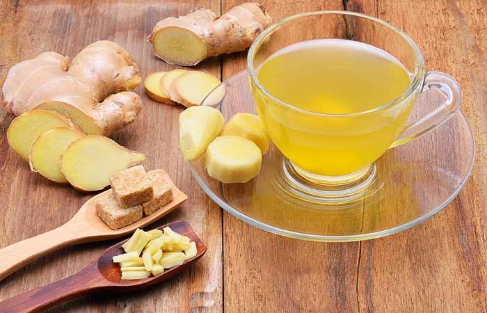 2. GingerGinger Tea For Laryngitis