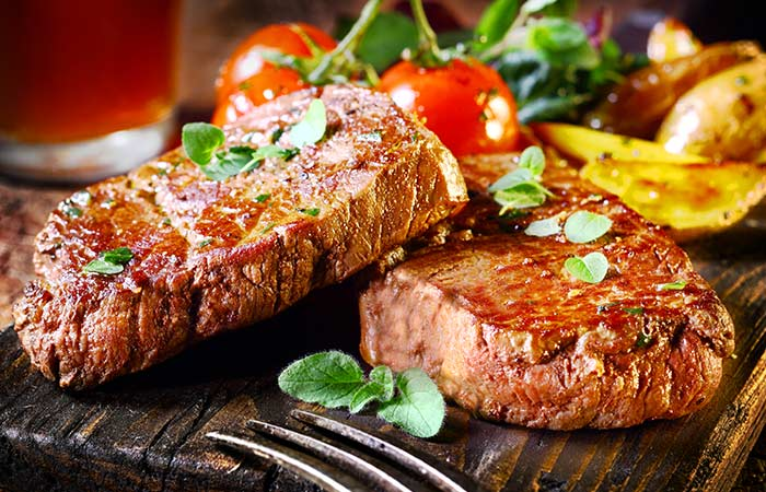 Glutamine Rich Foods - Grass-fed-Meat