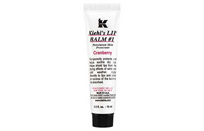 Best Lip Balm For Dark Lips - 2. Kiehl's Lip Balm #1