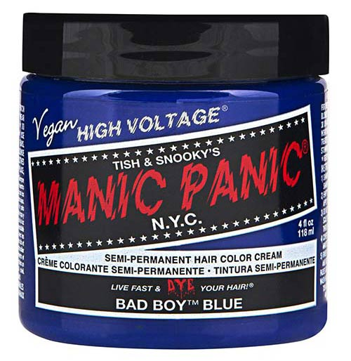 2. Manic Panic Semi-Permanent Hair Color Cream