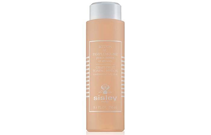 2. Sisley Grapefruit Toning Lotion