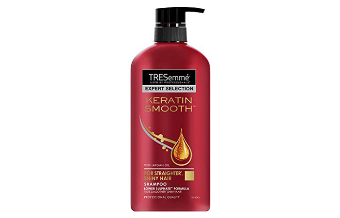2. TRESemme Expert Selection Keratin Smooth Shampoo