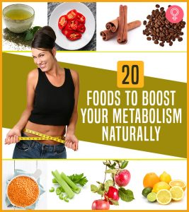 15 Best Healthy Foods To Boost Your Metabolism Naturally