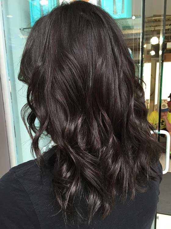 Dark Chocolate Brown Hair With Lowlights | www.pixshark ...