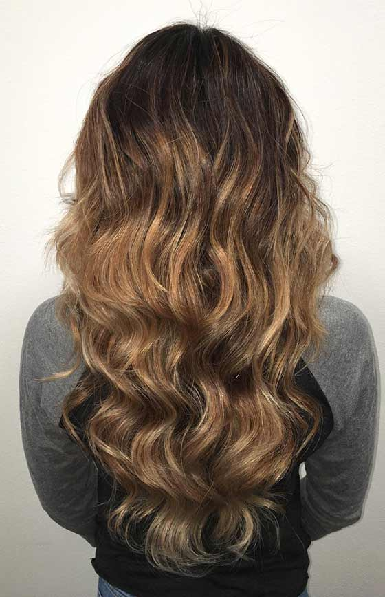 26.-Dark-Brown-To-Gold-Ombre