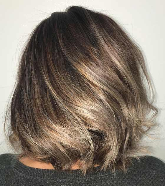Miranda Kerr Brown Hair Colors With Babylights
