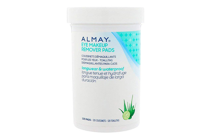 Almay Longwear And Waterproof Eye Makeup Remover Pads - Best Eye Makeup Removers