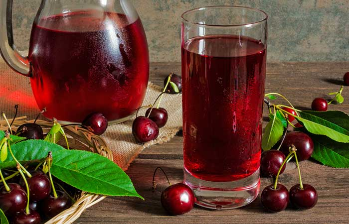 3. Best Juice For Insomnia - Tart Cherry Juice