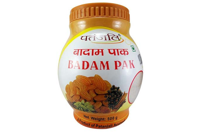 3. Patanjali Badam Pak For Weight Gain