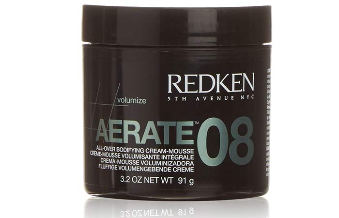 Best Redken Hair Products - Redken Aerate 08 All-Over Bodifying Cream-Mousse