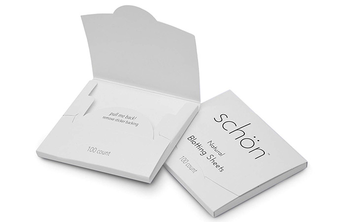 3.-Schön-Natural-Oil-Blotting-Sheets - Blotting Papers For Oily Skin