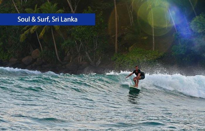 3. Soul & Surf, Sri Lanka