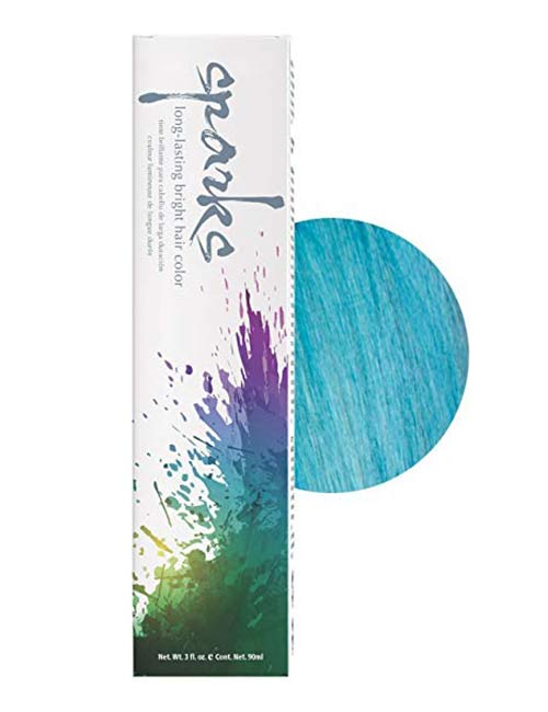 3. Sparks Long-Lasting Bright Hair Color