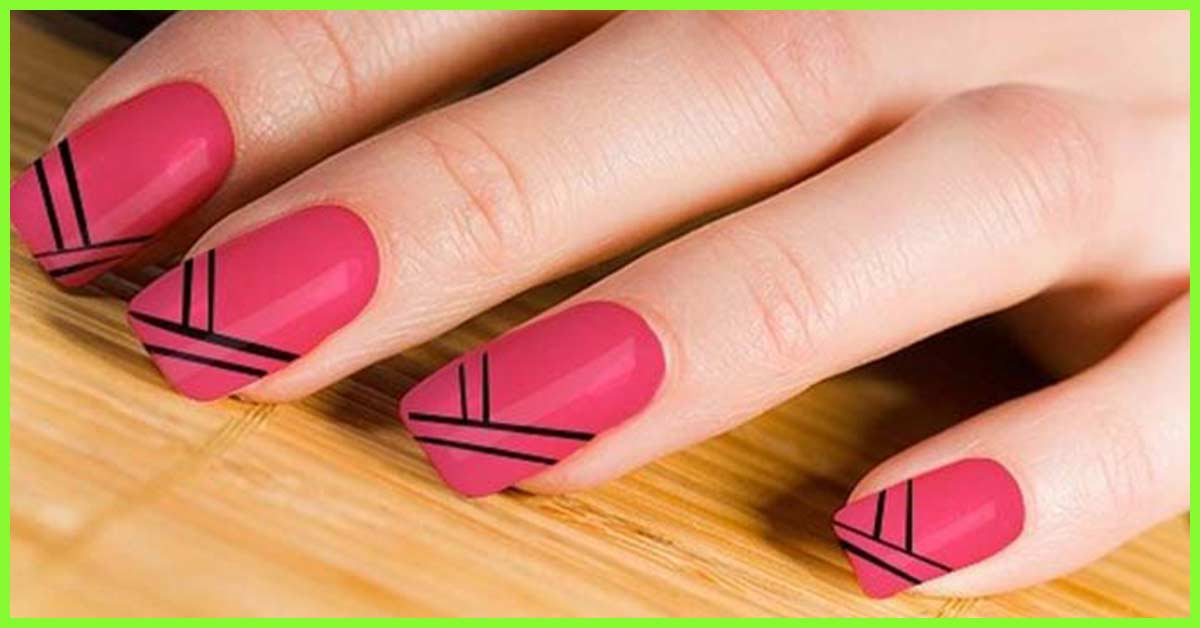 - 30 Cute Pink Nail Art Design Tutorials With Pictures