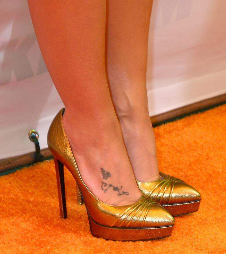 Top 10 Britney Spears Tattoo Designs