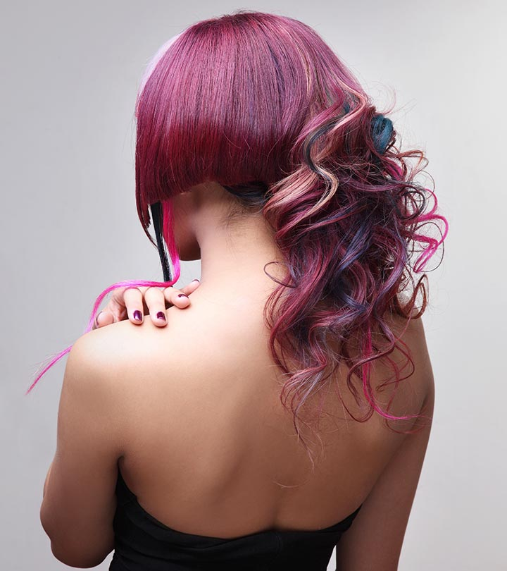 Temporary Hair Colour What Is It How Does It Work Benefits And