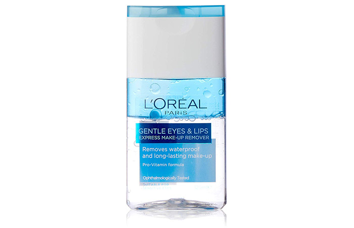 L'Oreal Dermo-Expertise Gentle Lip And Eye Makeup Remover - Best Eye Makeup Removers