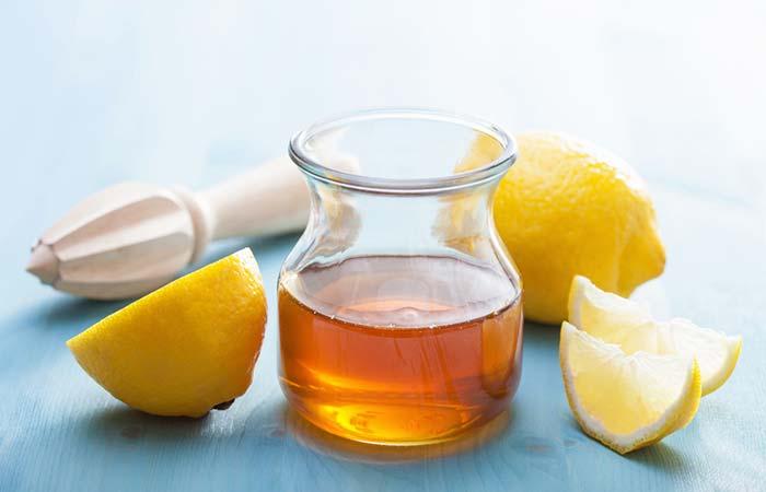 4. Lemon And Honey For Laryngitis