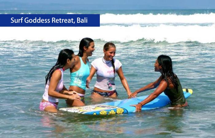 4. Surf Goddess Retreat, Bali