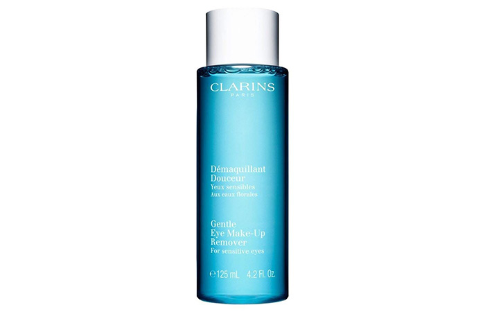 Clarins Gentle Eye Makeup Remover For Sensitive Eyes - Best Eye Makeup Removers