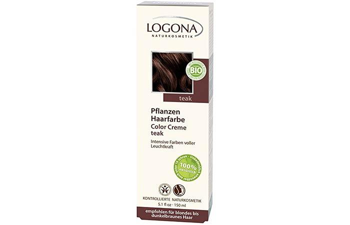 5. Logona Herbal Hair Color Creme
