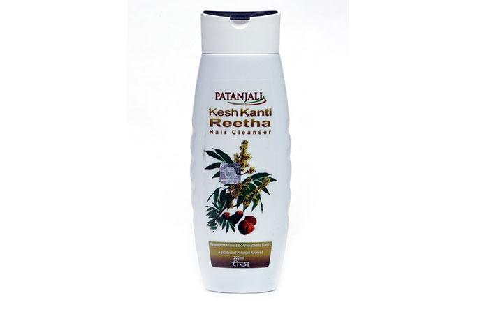 5. Patanjali Kesh Kanti Reetha Hair Cleanser