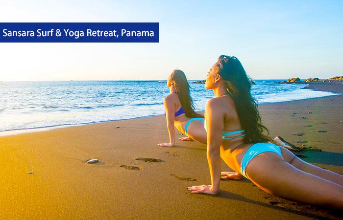 5. Sansara Surf & Yoga Retreat, Panama