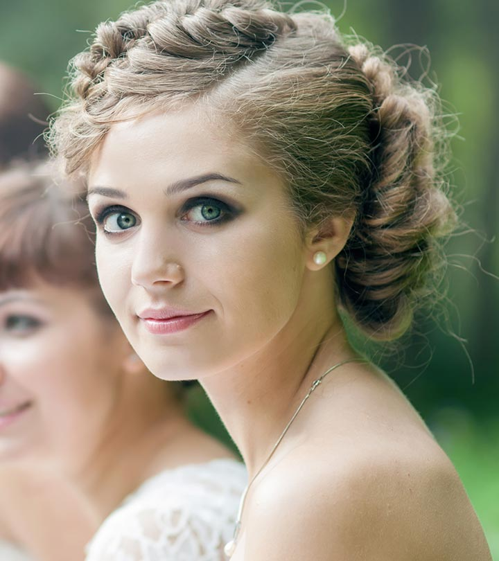 0647f665a75 50 Bridesmaid Hairstyles For Short Hair