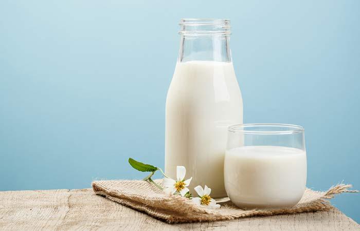 6. Drink Milk