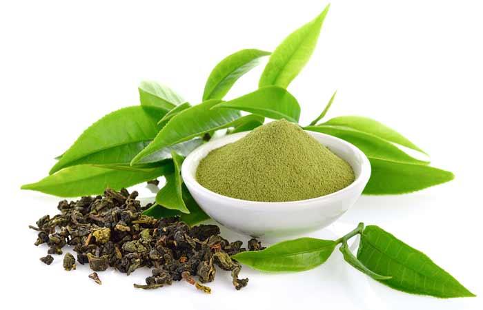 how to stop hair breakage - Green Tea