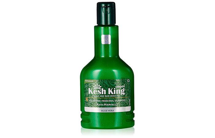 6. Kesh King Aloe Vera Ayurvedic Medicinal Shampoo
