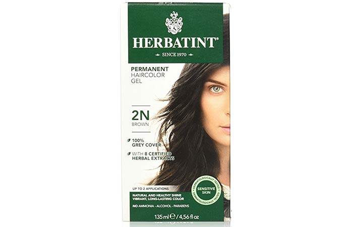 7. Herbatint Permanent Hair Color Gel