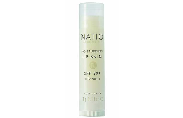 Natio Aromatherapy Moisturizing Lip Balm SPF 30+