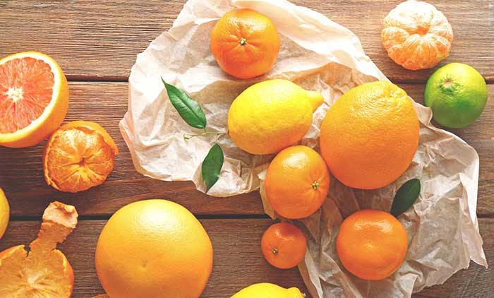 Best Foods For Oily Skin - Oranges