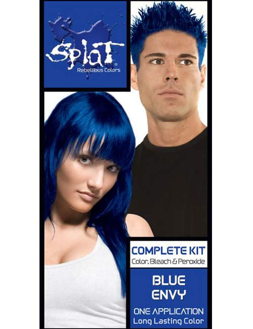 7. Splat Rebellious Semi-Permanent Fantasy Complete Hair Color