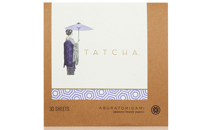 7.-Tatcha-Original-Aburatorigami-Japanese-Beauty-Papers - Blotting Papers For Oily Skin
