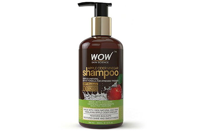 7. WOW Apple Cider Vinegar Shampoo