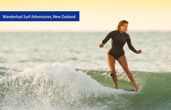 7. Wanderlust Surf Adventures, New Zealand
