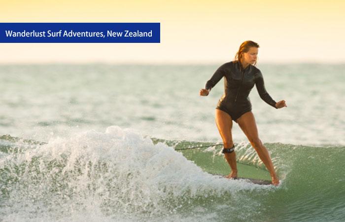 7. Wanderlust Surf Adventures, New Zealand