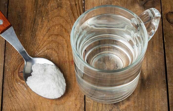8. Salt Water Gargle Recipe For Laryngitis