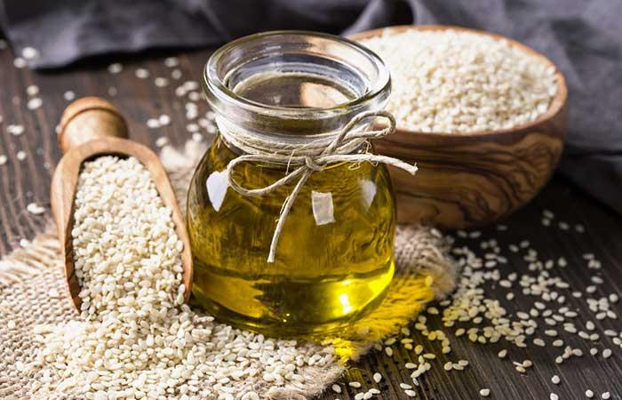 8. Sesame Oil