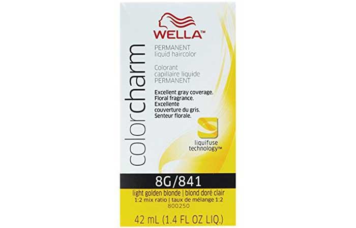 8. Wella Color Charm Permanent Liquid Hair Color