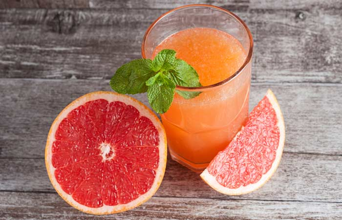 Lower Your Cholesterol Levels - Grapefruit Juice