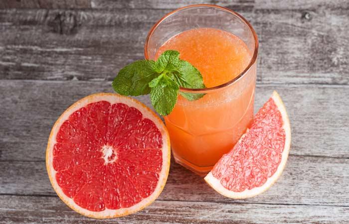 9. Grapefruit Juice